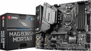 MSI MAG B365M MORTAR Mini-ATX LGA1151 Gaming Motherboard