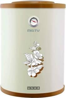 USHA 15 L Storage Water Geyser (Misty, Ivory Cherry Blossom)