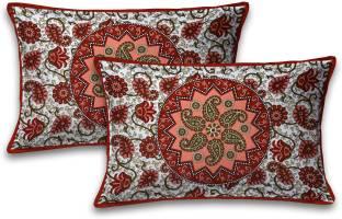 Sanganeri Cart Printed Pillows Cover
