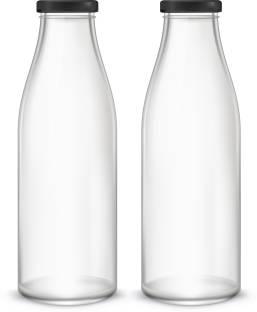 Artista Glass Bottle (500x2) for Water / Milk 500 ml Bottle