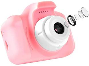HALO NATION CAM-X2B Kids Digital Video Camera, 5.0MP Rechargeable Camera Shockproof 1080P HD Camcorder...