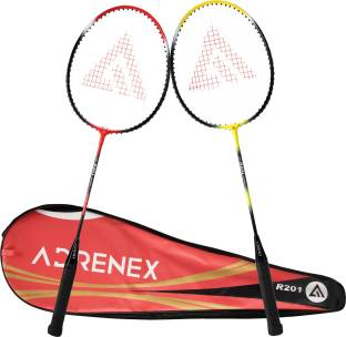 Adrenex by Flipkart R201 Combo with cover Multicolor Strung Badminton Racquet