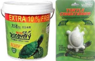 Taiyo Pluss Discovery TAIYO PLUSS DISCOVERY TURTLE FOOD 1KG AND FREE TURTLE CONDITIONAR Vegetable 1 kg...