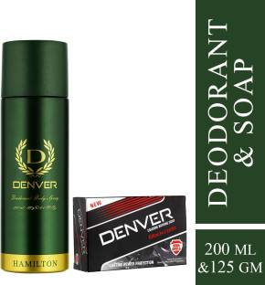 DENVER Hamilton Deo 200 Ml & Black Code Soap 125g