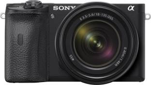 SONY ILCE-6600M/B IN5 Mirrorless Camera with 18-135 mm Zoom Lens