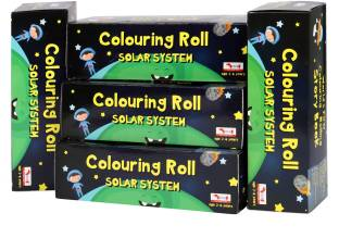 Cocomoco Kids Return Gifts Combo Pack Birthday Set 5 Pcs Solar System Colouring Roll Story Book Kids Stem Toy Educational Toy 2 3 4 5 Year Old Boys Girls Multicolor Reviews Latest