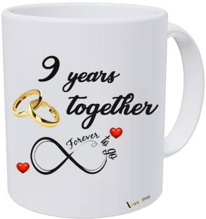 Blinknshop Happy Marriage Anniversary Happy Wedding Anniversary 10 Years Ceramic Coffee Mug Price In India Buy Blinknshop Happy Marriage Anniversary Happy Wedding Anniversary 10 Years Ceramic Coffee Mug Online At Flipkart Com