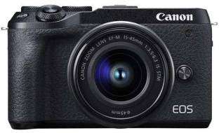 Canon M6 Mark II Mirrorless Camera with 15-45 lens