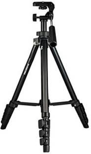 "Smiledrive Professional Portable DSLR Tripod- 56.5"" Max Height Camera/Mobile Stand for Canon, Nikon, Smart Phones & Action Cameras Tripod, Tripod Kit"