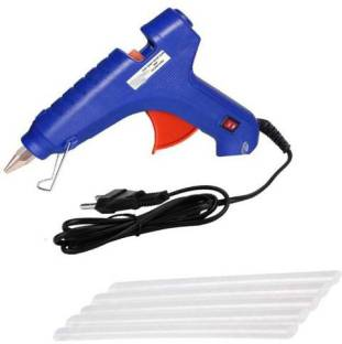 Eurospa Blue New with 5 Stick Standard Temperature Corded Glue Gun