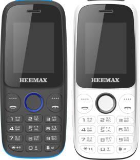 Heemax H1 Shine Combo of Two Mobiles