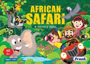 Frank African Safari Board Game Party & Fun Games Board Game