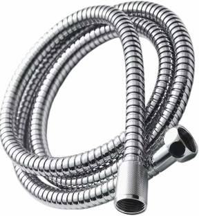 NEW WARE 1.5 Meter Stainless Steel Chrome Plated Flexible Shower Hose tube Hand shower Hose Replacement Shower Tube, Health Faucet Tube, Flexible Tube Premium Quality (Multi Purpose) Hose Pipe
