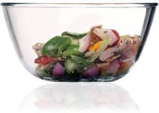 Femora Borosilicate Glass Mixing Bowl 400 ml Borosilicate Glass Salad Bowl