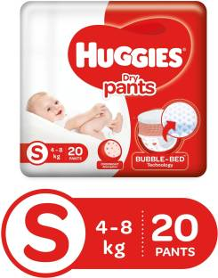 Huggies Dry Pants with Bubble Bed Technology - S