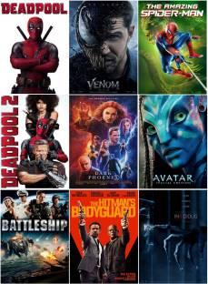 Deadpool 1 & 2, Venom, Avatar, Battleship, The Amazing Spider-Man, Dark Phoenix, Insidious, The Hitman's Bodyguard (9 movies) (dual audio Hindi and English) (clear HD print clear audio) it's burn DATA DVD play only in computer or laptop