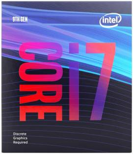 Intel Core i7-9700F 9th Generation 3 GHz Upto 4.7 GHz LGA 1151 Socket 8 Cores 8 Threads 12 MB Smart Ca...
