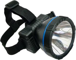 EN 24 Energy 90 Degree Moveable 10 Watt Long Range Headlamp Rechargeable Torch