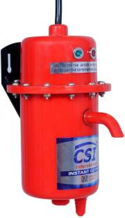 CSI INTERNATIONAL 1 L Instant Water Geyser (1L INSTANT WATER PORTABLE HEATER GEYSER SHOCK PROOF BODY W...
