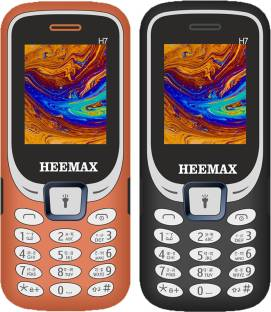 Heemax H7 Combo of Two Mobiles