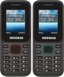 Heemax H310 Combo of Two Mobiles