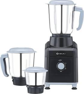 BAJAJ GX 3501 500 W Mixer Grinder (3 Jars, Black, Grey)