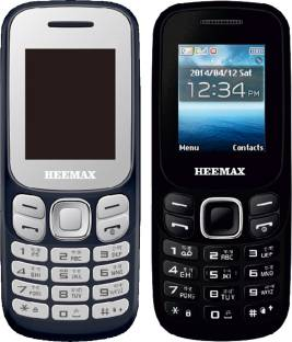Heemax H312 Combo of Two Mobiles