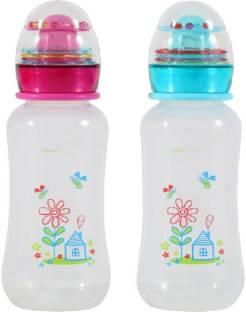 Cuckoos New Born Baby Milk Feeding Bottle/Feeder Pack Of 2 - 300 ml -  Plastic baby bottles online in india Buy Cuckoos Feeding Bottle products in  India , Baby Bottle with Silicone nipple | Flipkart.com