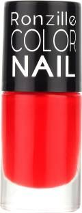 RONZILLE Matte Liquid Nail paint Strawberry Margaritta