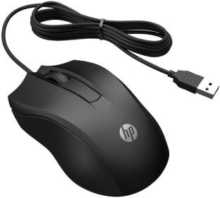 HP 100 Wired Optical Mouse