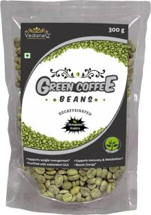 VedaneQ Green Coffee Beans Weight loss Unroasted Arabica instant coffee 300g Instant Coffee