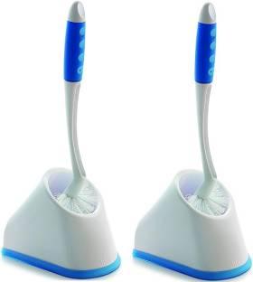 cello Angular Toilet Brush with Storage 2pc set(White) Toilet Brush