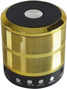 Brown Bee GS-887 Wireless Bluetooth Speaker Good Quality Sound And Deep Bass ( Gold ) 5 W Bluetooth Speaker