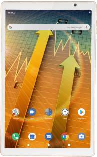 iball iTab BizniZ Pro 4 GB RAM 64 GB ROM 10.1 inch with Wi-Fi+4G Tablet (Champagne Gold)