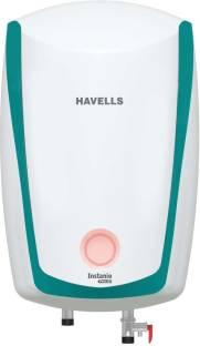 HAVELLS 6 L Storage Water Geyser (Instanio Prime, white -Blue)