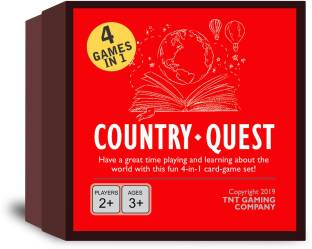 Exciting Lives Country Quest World Knowledge Cards Game