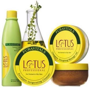 LOTUS Professional Puravitals Facial Kit