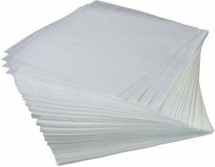 """Getitnow Butter Paper Sheets in White (Colour Pack of 100, Size 10"""" X 10"""") Parchment Paper"""