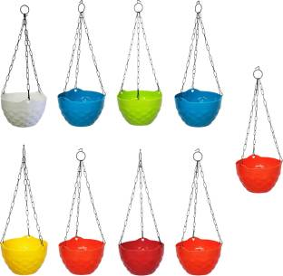 growplanter Hanging Diamond pot Plant Container Set