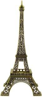 vahvaa Antique finish Paris Eiffel Tower metal miniature statue Decorative Showpiece  -  18 cm