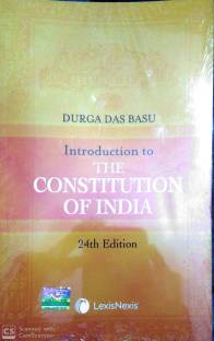 Introduction to the Constitution of India 21st Edition