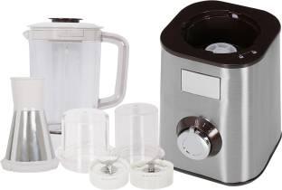 BMS Lifestyle PLATINUM High Speed Blender/Mixer/Smoothie Maker 550 Juicer Mixer Grinder (3 Jars, Silve...