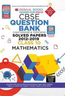 Oswaal Cbse Question Bank Class 10 Mathematics Chapterwise & Topicwise
