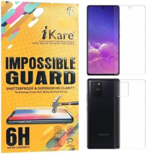 iKare Front and Back Screen Guard for Samsung Galaxy S10 Lite