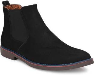 Better Life Black Suede Leather Boots Boots For Men