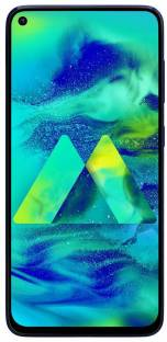 SAMSUNG Galaxy M40 (Midnight Blue, 128 GB)