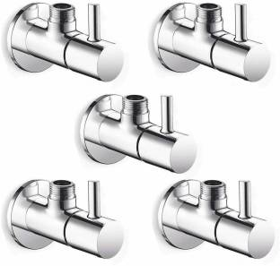 Floyd Angle Cock Flora Brass Chrome Plated (Pack of 5) Angle Cock Faucet
