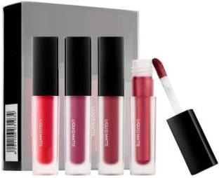 Kiss Beauty red edition matte lipsticks set of 4
