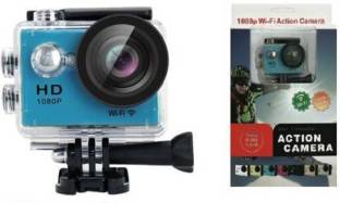 Whelked Action Camera 4K Action Camera 16MP Sony Sensor Vision 3 Underwater Waterproof Camera 170° Wi...