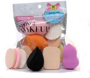Lecherous 6 in 1 makeup sponge and Puff set for make up